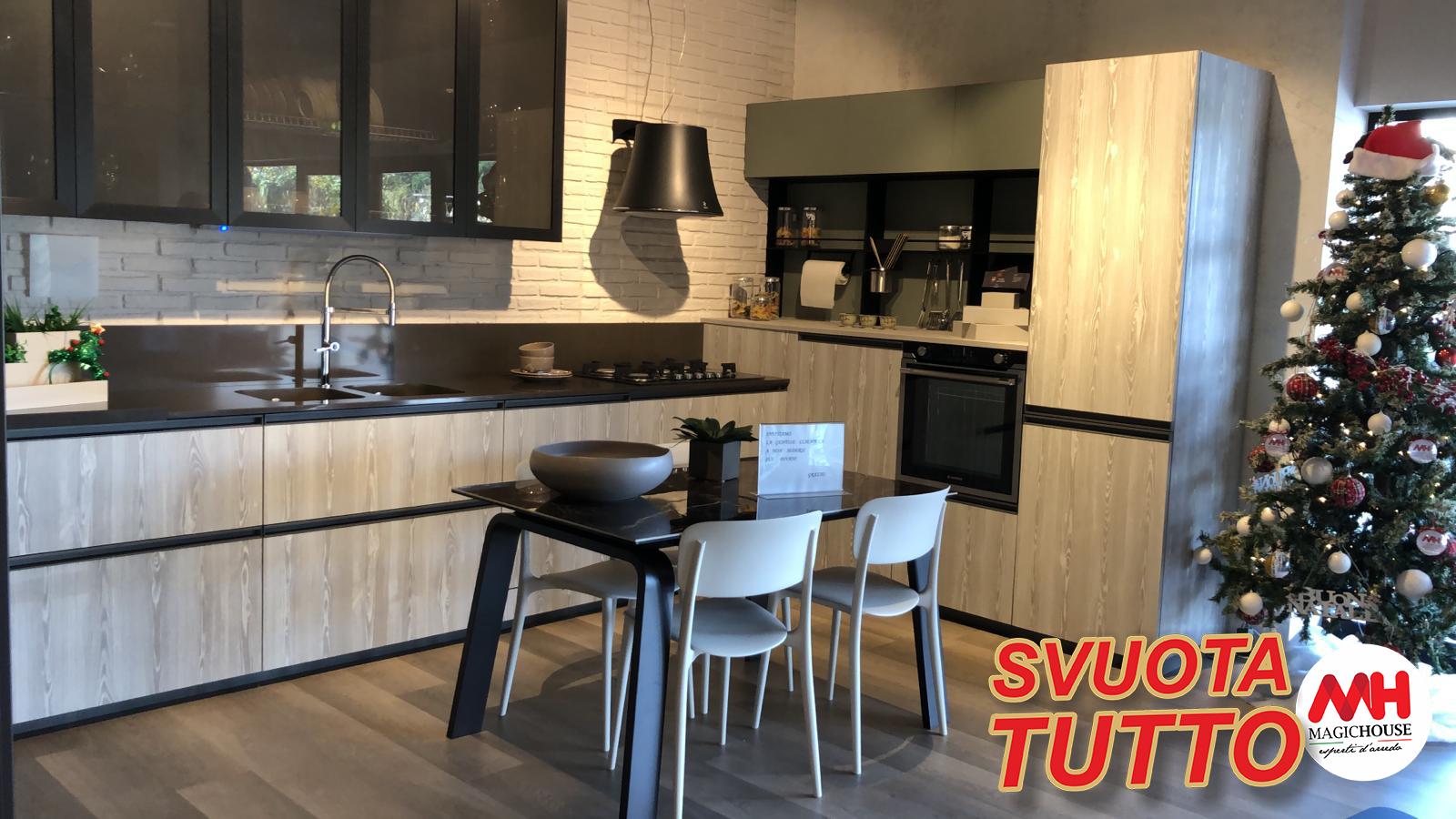 Cucina Lube Mod Immagina Head Angolare Magic House Arredamenti Lube E Creo Store Salerno